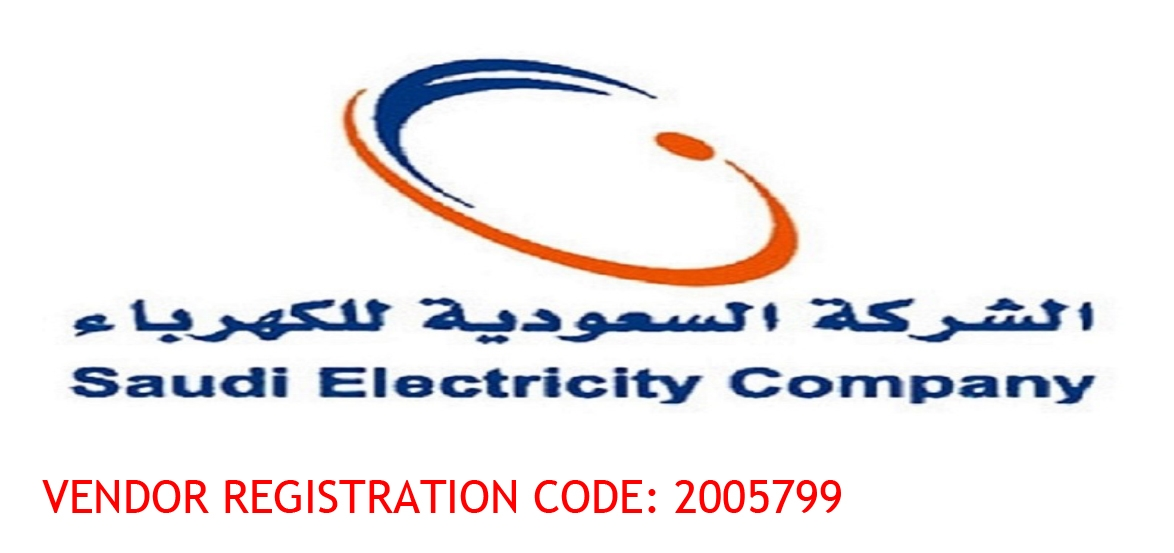 vendor registration code Saudi electricity company